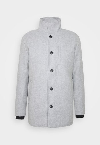 JJDUAL JACKET - Classic coat - light grey melange