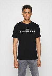 John Richmond - TOLIMA REGULAR - Print T-shirt - black - 0