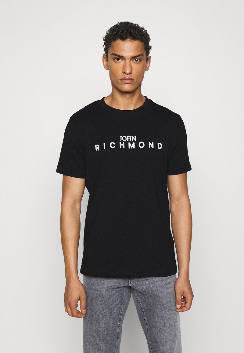 John Richmond - TOLIMA REGULAR - Print T-shirt - black