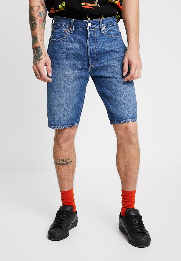 Levi's® - 501® HEMMED  - Denim shorts - nashville