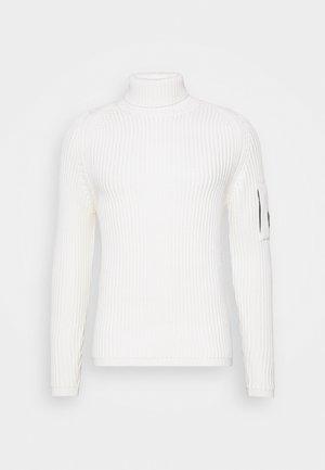 TURTLE NECK - Maglione - gauze white