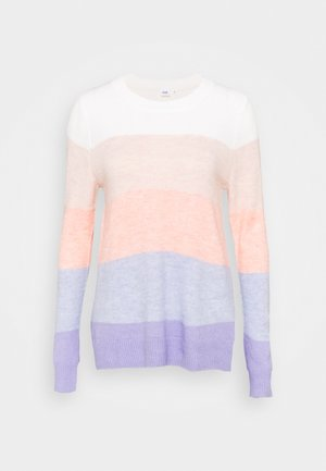 COZY SOFT CREW TUNIC - Jumper - rugby pink