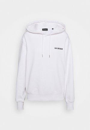 BULKY HOODIE - Sweatshirt - white logo