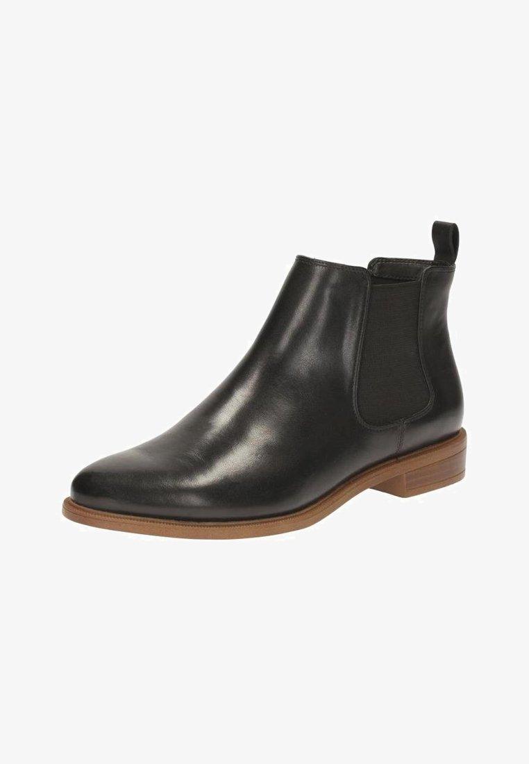 Clarks - TAYLOR SHINE - Korte laarzen - black