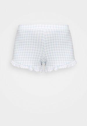 JUNE COZY SHORT - Pyjama bottoms - blue gingham