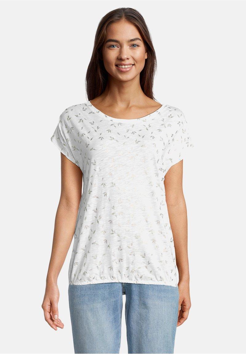 Betty & Co - Print T-shirt - weiß