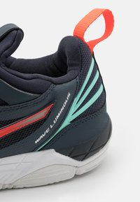 Mizuno - WAVE LUMINOUS - Volleyball shoes - india ink/fiery coral/ice green - 5