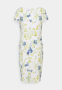 Lauren Ralph Lauren - PRINTED MATTE DRESS - Sukienka etui - cream/yellow - 7
