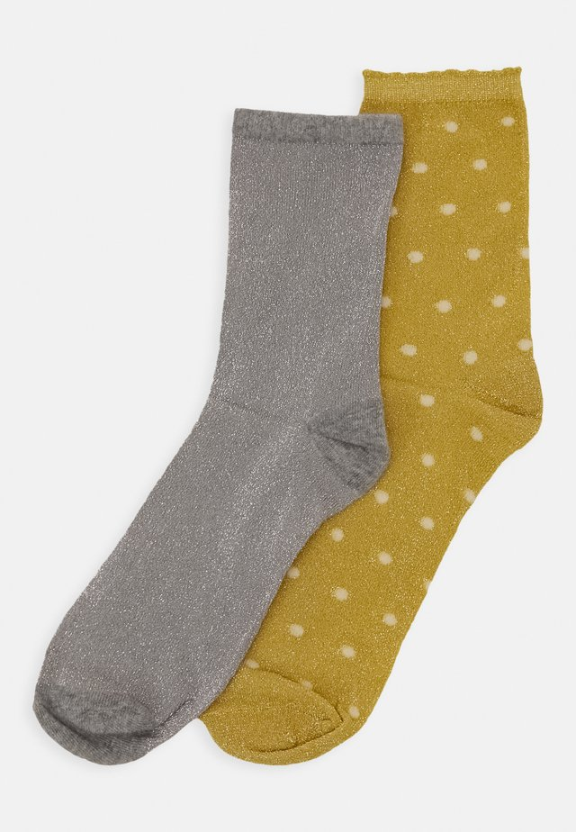 MIX SOCK 2 PACK  - Chaussettes - bamboo/light grey