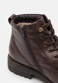 Pier One - Lace-up ankle boots - dark brown - 5