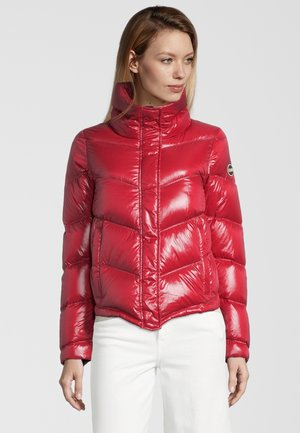 MIT STEHKRAGEN - Down jacket - red