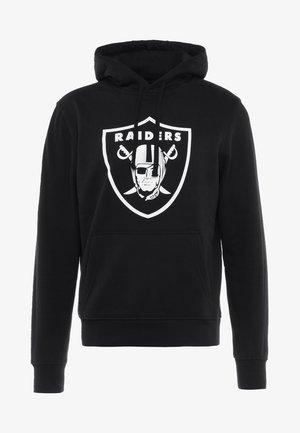 NFL TEAM OAKLAND RAIDERS - Hoodie - black