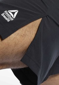 Reebok - Reebok Austin II Solid Shorts - Krótkie spodenki sportowe - Black - 3