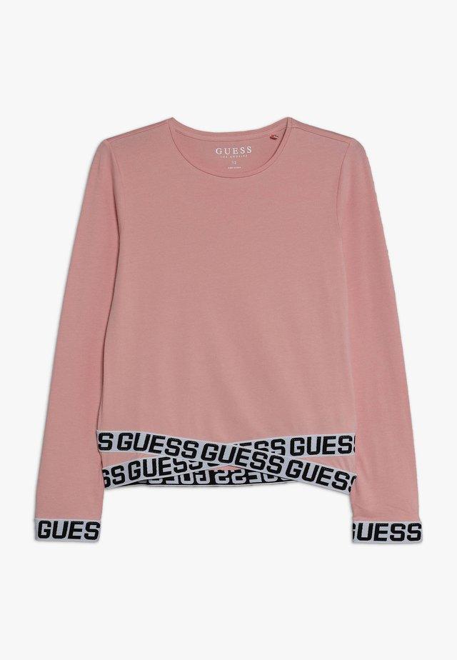 JUNIOR LOGO - Maglietta a manica lunga - slip pink