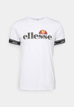 ALENTE - T-shirt med print - white