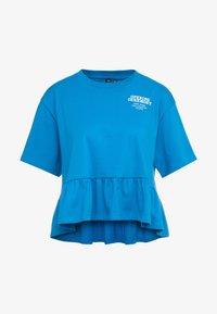 Opening Ceremony - RUFFLE PEPLUM TEE - Print T-shirt - cobalt blue - 5