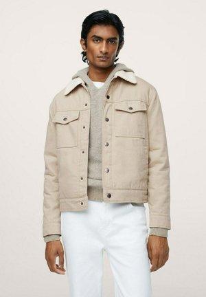 Giacca di jeans - open beige