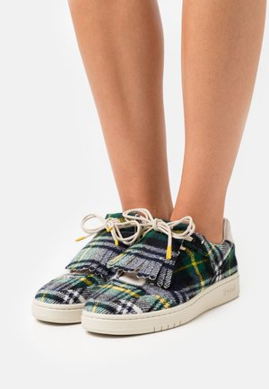 COURT KILT TOP LACE - Sneakersy niskie - green/yellow/blue