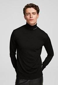 KARL LAGERFELD - Sweter - black - 0