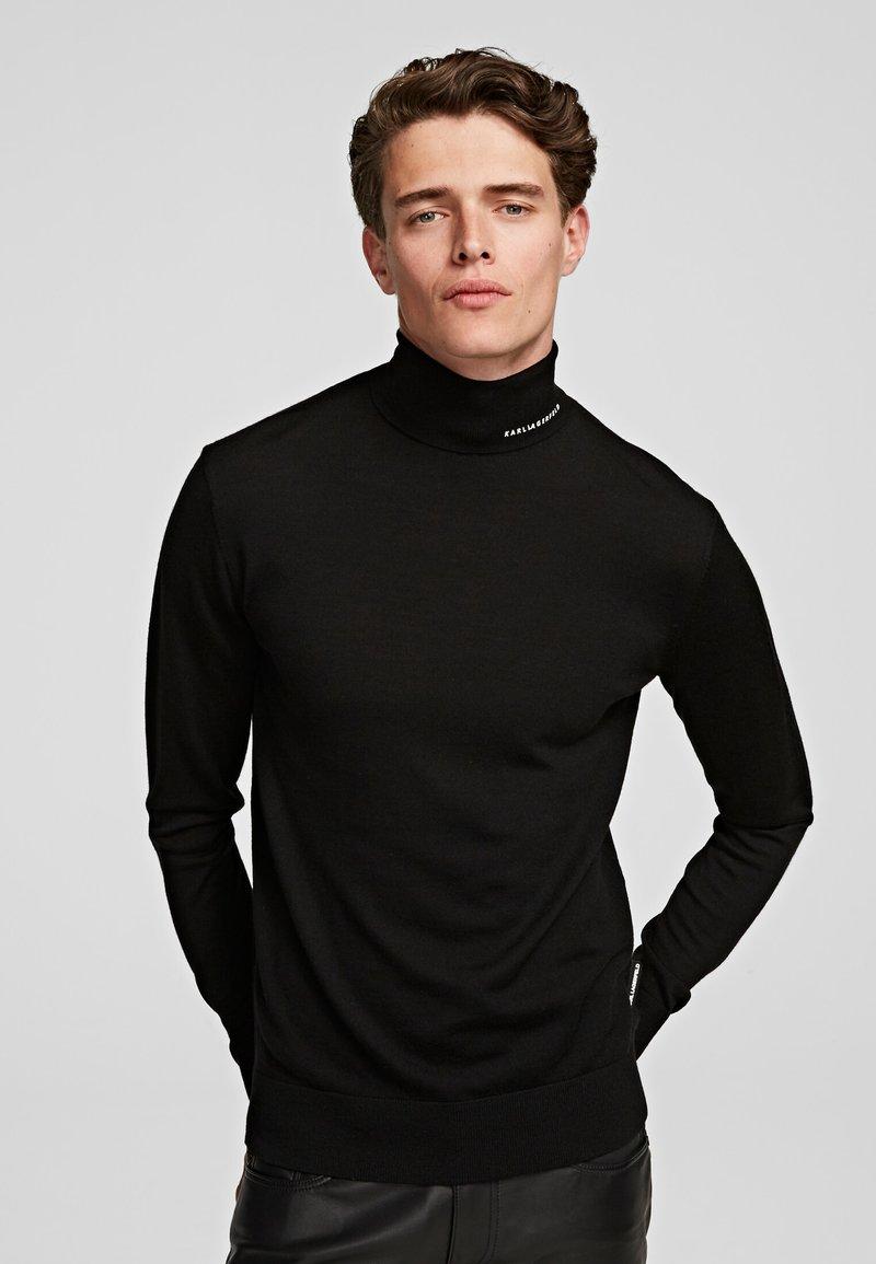 KARL LAGERFELD - Sweter - black