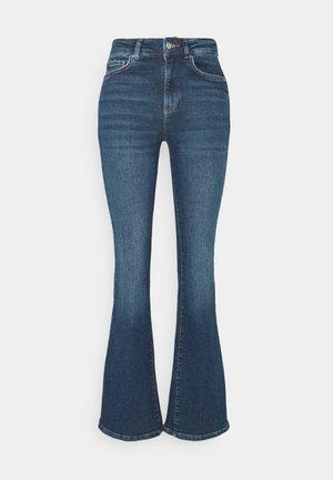 MEJA - Flared jeans - midnight blue