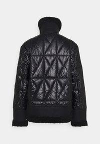 KARL LAGERFELD - BIKER JACKET - Light jacket - black - 1