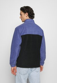Obey Clothing - EULOGY MOCK NECK ZIP - Fleecová mikina - black - 2