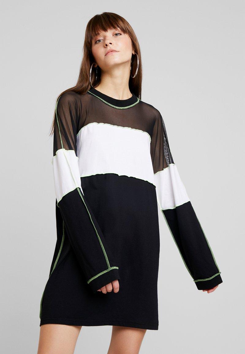 The Ragged Priest - EXIST DRESS - Žerzejové šaty - black/multi