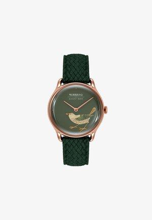 Horloge - crimson