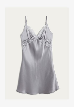 PRETTY SOMETHING - Nightie - grau - grey/talc white