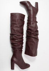 mint&berry - High heeled boots - bordeaux - 3
