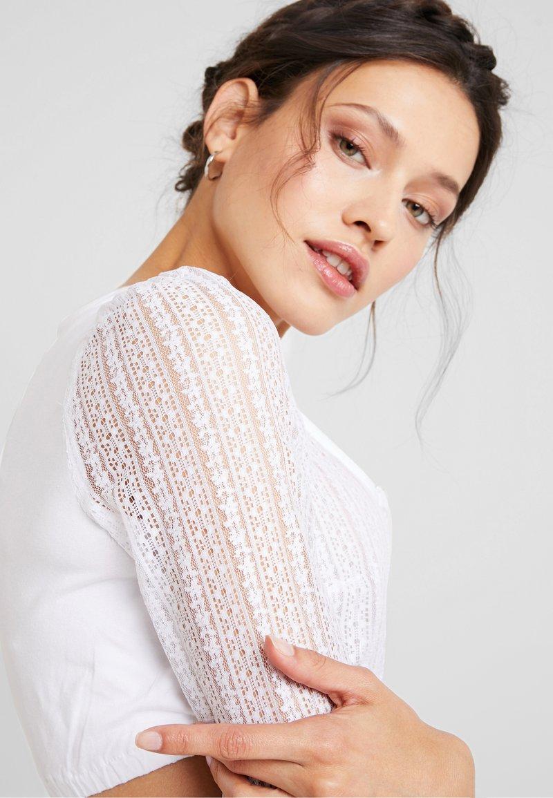 Marjo CANDIA - Bluse - weiß L0Yfbt