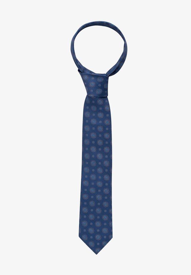 Tie - orange/blau