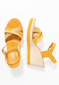 Marco Tozzi - Platform sandals - yellow - 3