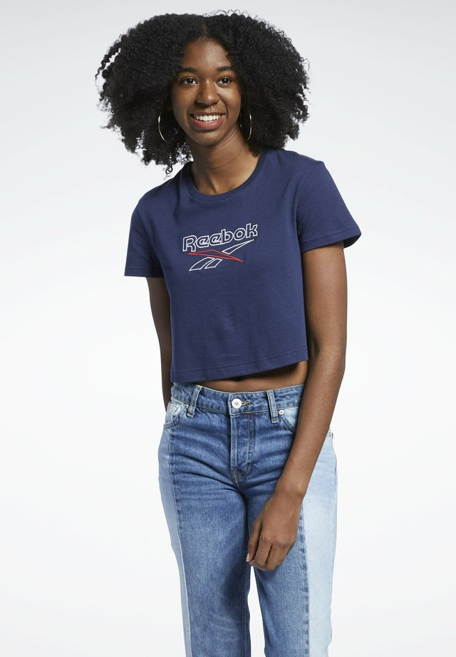 T-shirt imprimé - blue