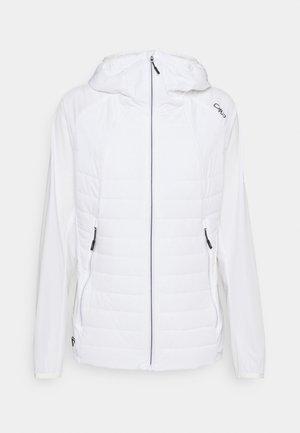 WOMAN FIX HOOD JACKET - Outdoor jacket - bianco
