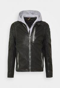 Gipsy - HALOW - Leather jacket - black - 5