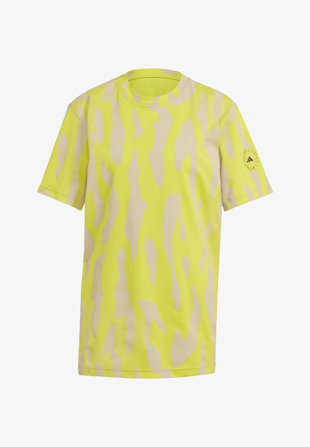 TEE - T-shirt imprimé - yellow