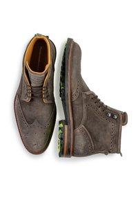 Floris van Bommel - Lace-up ankle boots - taupe - 2