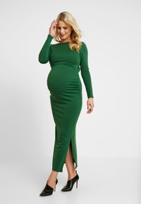 True Violet Maternity - OPEN BACK SPLIT MIDAXI - Maksimekko - jade - 0