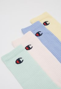 Champion - PASTEL CREW SOCKS 4 PACK - Sportsokken - multi-coloured - 2