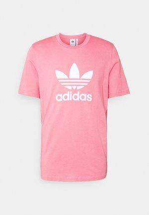 TREFOIL UNISEX - T-shirt print - hazy rose/white