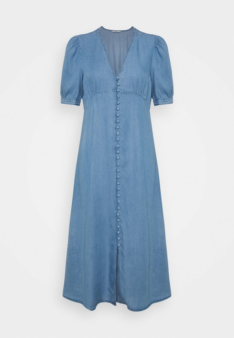 ONLY Petite - ONLDAISY DRESS - Denim dress - medium blue denim