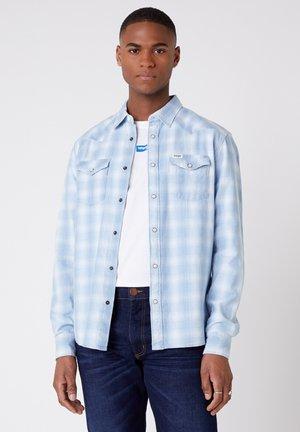 LS WESTERN - Shirt - light indigo