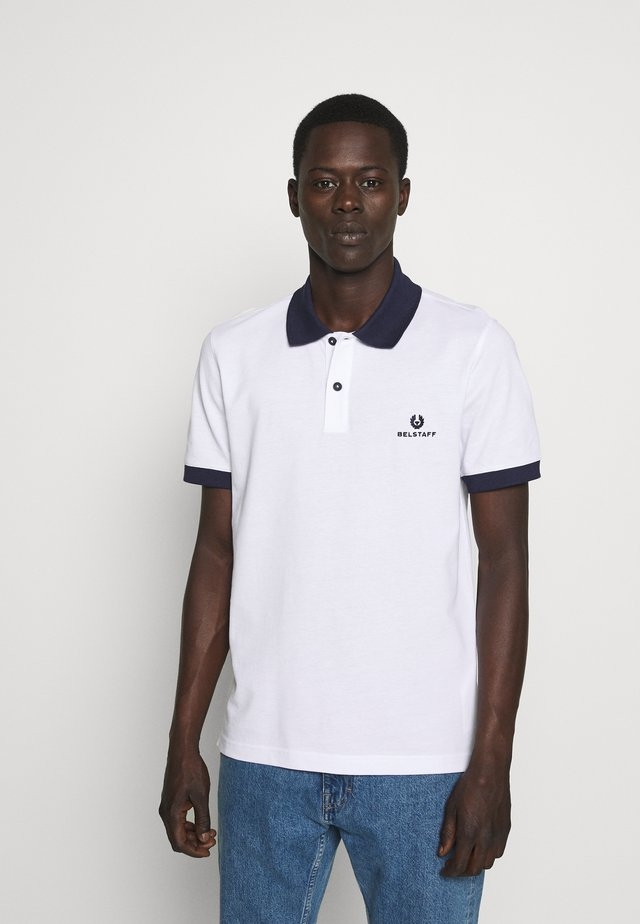 CHICHESTER - Polo - white/bright navy