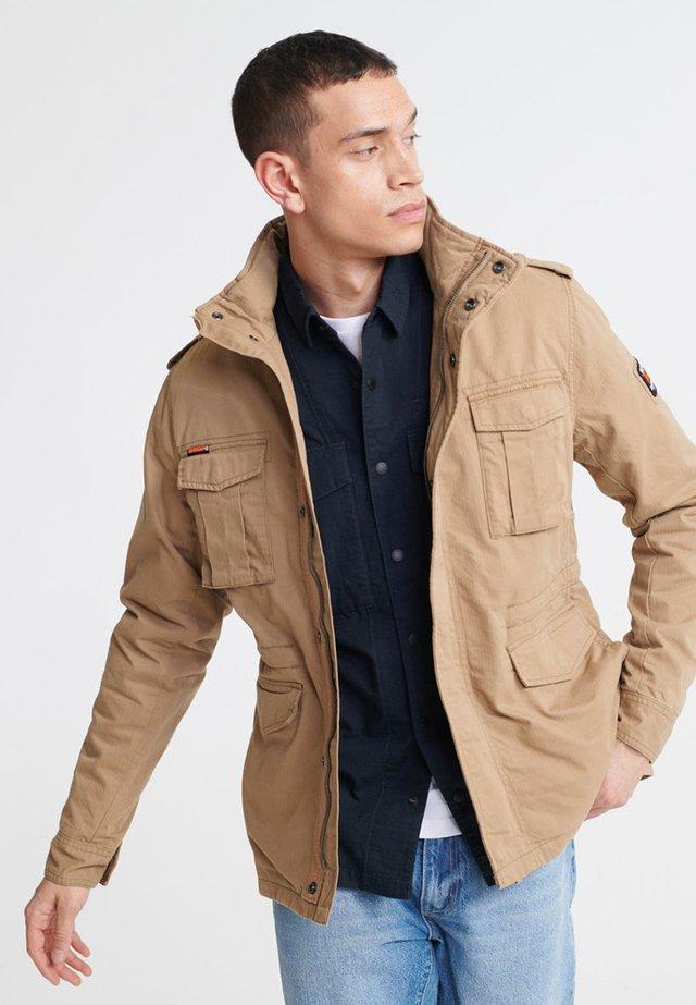 CLASSIC ROOKIE - Summer jacket - desert sand