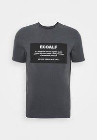 Ecoalf - NATAL PATCH - T-shirt imprimé - caviar - 0
