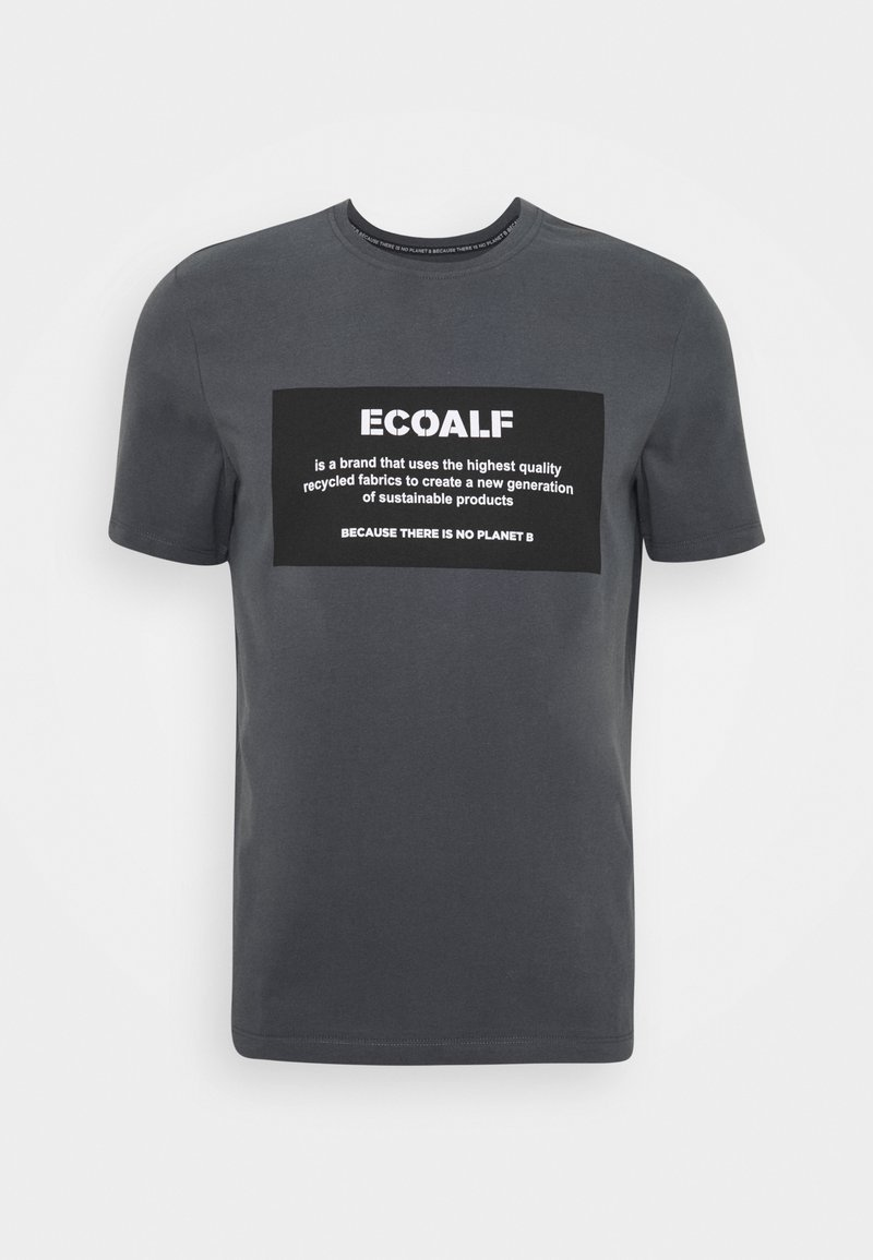 Ecoalf - NATAL PATCH - T-shirt imprimé - caviar