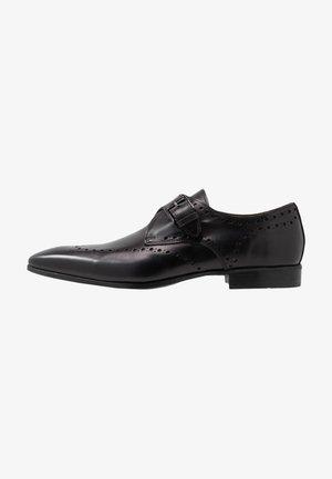 Elegantní nazouvací boty - nero