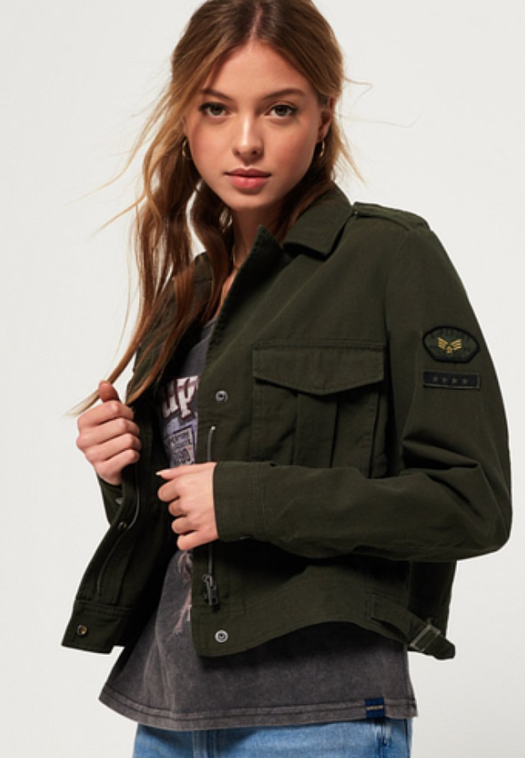 Superdry - Light jacket - green